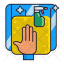 Glass Cleaning Icon