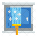 Glass Cleaning Housework Washing Icon