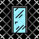 Glass Door Color Icon