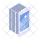Glass Elevator Glass Lift Elevator Door Icon