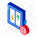 Glass Falling Out Window Icon