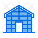 Glass House Building Hidroponic Icon