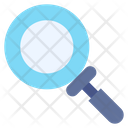 Glass Magnifying Icon
