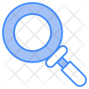 Glass Magnifying Lense Tool Icon