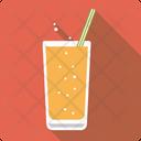 Lemonade Sparkling Straw Icon