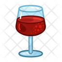 Glass Of Wine Food Meal Icon