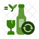 Glass recycle Icon