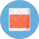 Glass Strawberry Drink Icon