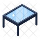 Glass Table Coffee Table Office Table Icon
