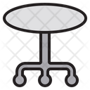 Glass Table Coffee Table Cafe Table Icon