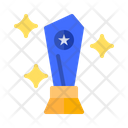 Glass Trophy Trophy Award Icon