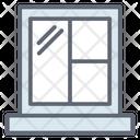 Window Glass Household Window Window Fitting Icon