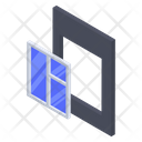 Glass Window Fitting Icon