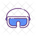 Glasses Goggles Winter Protection Icon