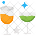 Glasses Drink Juice Icon