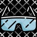 Glasses Protection Scientific Icon