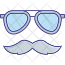 Costume Glasses Hipster Icon
