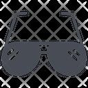 Glasses View Eye Icon