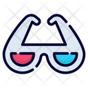 Man Goggles Spectacles Icon