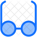 Business Finance Glasses Icon
