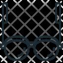 Glasses Man Eye Icon