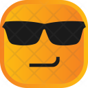 Glasses Atitude Face Icon