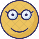 Glasses Face Icon