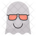 Glasses Face Ghost Icon
