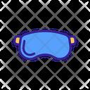 Glasses Military Icon