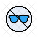 Notallowed Glasses Stop Icon