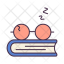 Book Study Hard Icon