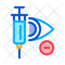 Glaucoma Syringe Ophthalmology Icon