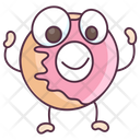 Donut Doughnut Glazed Donut Icon