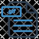 Glf File Sheet Icon