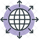 Global Communication Globe Icon