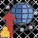 Global Worldwide Universal Icon