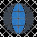 Global Server Internet Icon