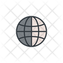 Global International Delivery Globe Icon