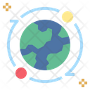 Global Earth Satellite Icon