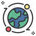 Global Earth Satellite Icon