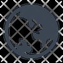 Globe Planet World Icon