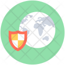 Global Security Shield Icon