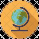 Global Globe Educational Globe Icon