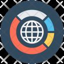 Global Analytics Stats Icon