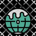 Global Warming Melt Icon