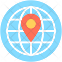 Global Location World Icon
