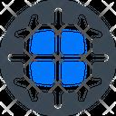 Global Internet Network Icon