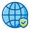 Global Internet Security Icon
