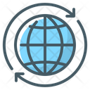 Global Network Earth Icon