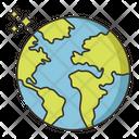 Mworld World Map Icon